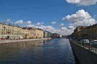 Saint-Petersburg rivers